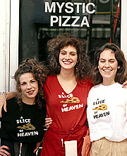 Julia Roberts as Daisy Arujo in Mystic Pizza
