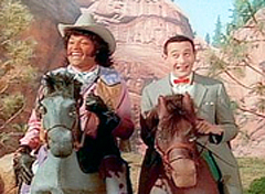 Laurence Fishurne as Cowboy Curtis on Pee-wee's Playhouse
