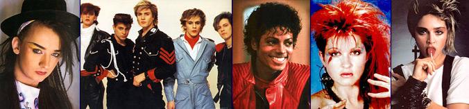 Musicians of 1983: Boy George, Duran Duran, Michael Jackson, Cyndi Lauper, & Madonna