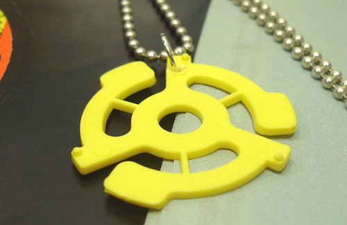 45 Adapter Necklace (photo credit: It's Our Earth)