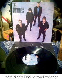The Pretenders 45 record (photo credit: Black Arrow Exchange)