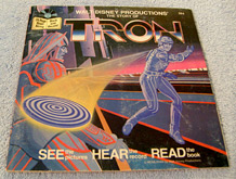 Tron 45 Read Along Book - cover art (photo credit: Tophat Posters and More)