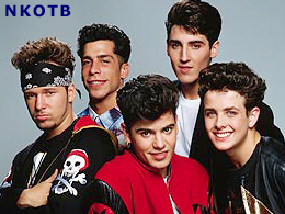 Boy Bands of the 1980: New Kids On The Block