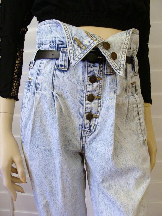 Foldover Jeans