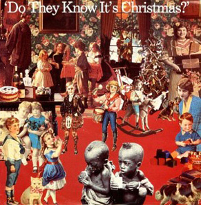 "Band Aid's ""Do The Know It's Christmas"" album cover"