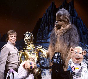 The Muppet Show featuring the cast of Star Wars