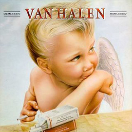 Van Halen's 1984 cover art