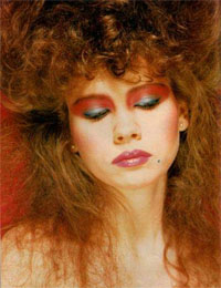 80s Makeup - Eyes Galore