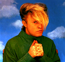 Flock of Seagulls Styling: Mike Score of Flock of Seagulls