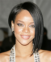 Asymmetrical Hairstyles: Rihanna