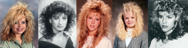 Awesome Hairstyles In The 1980S Like Totally 80S Hairstyle Inspiration Daily Dogsangcom