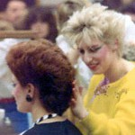Hairstyles in the 1980s