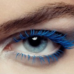 Am I Blue? Colored Mascara