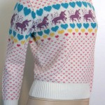 Unicorns and Hearts Get Fancy – The Trendy Fair Isle Sweater