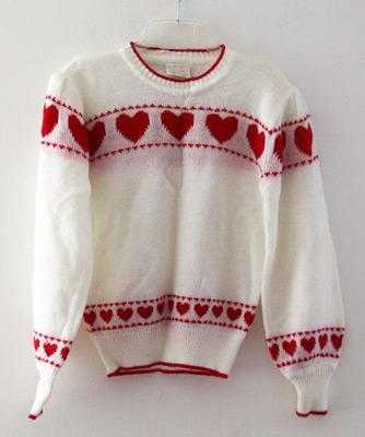 Fair Isle Sweaters: Hearts