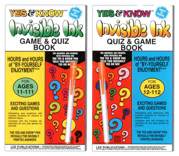 Invisible Ink Books