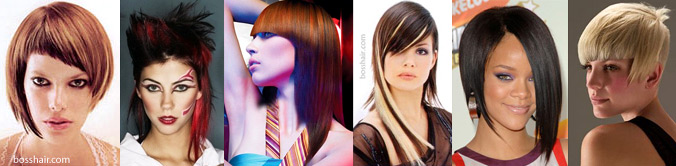 80s Asymmetrical and New Wave Hairstyles