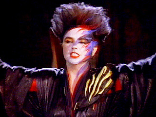 "Scandal's Patty Smyth in the music video ""The Warrior"""