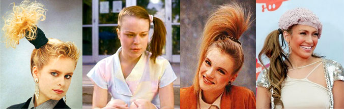 Excellent Hairstyles In The 1980S Like Totally 80S Hairstyles For Women Draintrainus