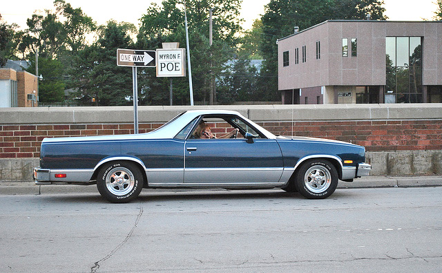 80s Cars: Chevy El Camino