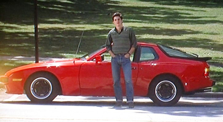 80s Cars: Jake's Porche from Sixteen Candles