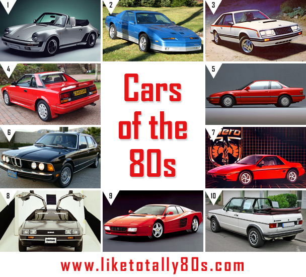 Which was your favorite 80s car?