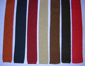 80s knit ties
