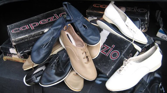High Top Jazz Shoes