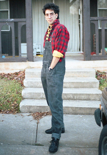 Overalls with Popped Collars on Layered Shirts (photo credit: dugn)