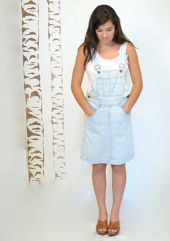 Overall Skirt (photo credit: vintage urban renewal)
