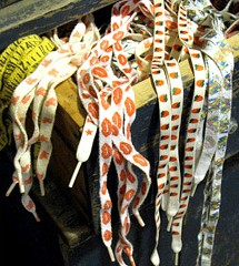 Patterned Shoelaces – My Saving Grace