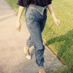 Roll It – Roll it Good: T-shirts, Jean Jackets and Pegged Jeans