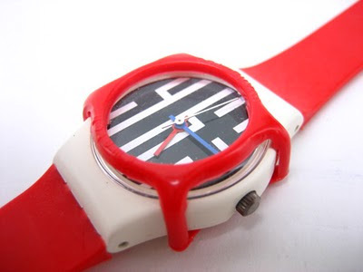 Swatch Watch with Guard