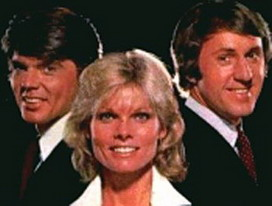 That's Incredible! hosts Fran Tarkenton, John Davidson and Cathy Lee Crosby