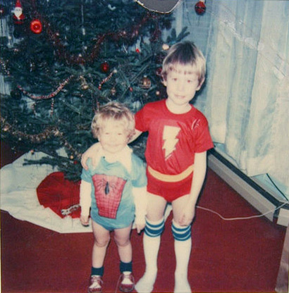 Spiderman & The Flash underoos (Photo credit: Russ Sprague)