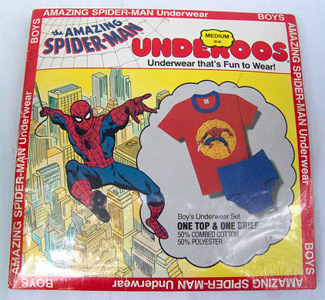 Package of Spider-Man Underoos - Front side (Photo credit: Photo credit: The Rusty Chicken)