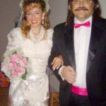 80s Bride and Groom Costume Idea