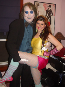Ed Locke & Melody Senters - 80s costume picture submitted by our site readers