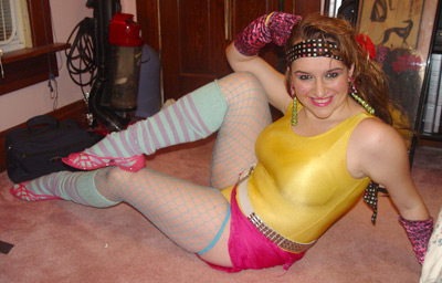 Melody Senters - 80s costume picture submitted by our site readers