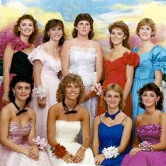 80s Party Costume Ideas: Prom Queen