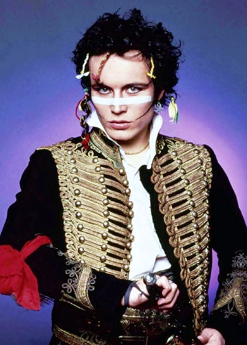 Adam Ant 80s costume idea