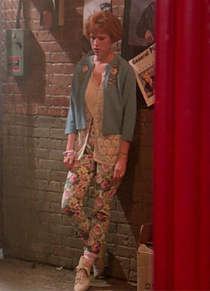 Pretty in Pink's Andie 80s Costume Idea