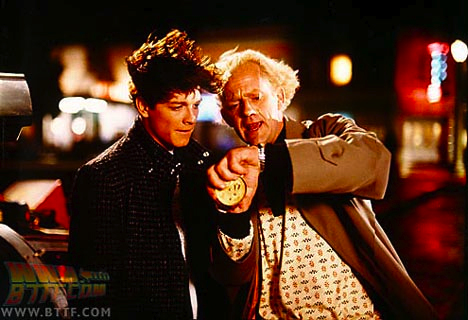 Eric Stoltz as Marty McFly in Back to the Future