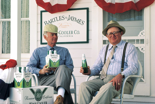 Bartles & Jaymes Wine Coolers commercials