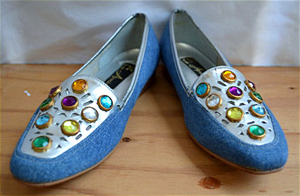 BeDazzled shoes (photo credit: Stella & June)