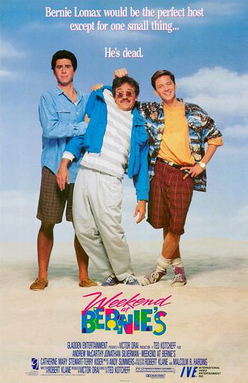 Weekend at Bernie's movie poster