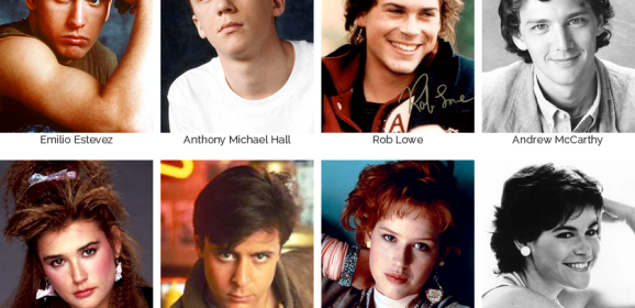 1980s Movie Mt. Rushmore Part II: The Brat Pack