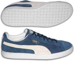 Breakdancing shoes: Puma Suede