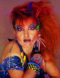 Cyndi Lauper costume idea