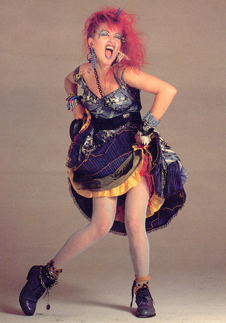 Cyndi Lauper 80s Costume Idea